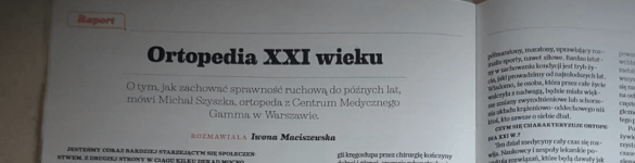 Wprost – Ortopedia XXI wieku - zdjęcie