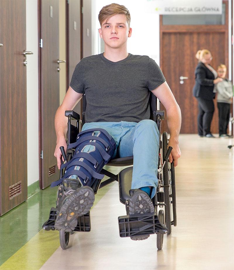 Pacjent po wypadku