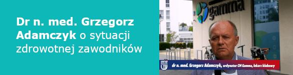 Dr n. med. Grzegorz Adamczyk o sytuacji zdrowotnej zawodników - zdjęcie
