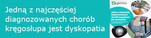 Jedną z najczęściej diagnozowanych chorób kręgosłupa jest dyskopatia - zdjęcie