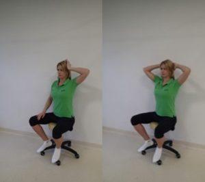 ćwiczenia na kręgosłup przy pracy siedzącej