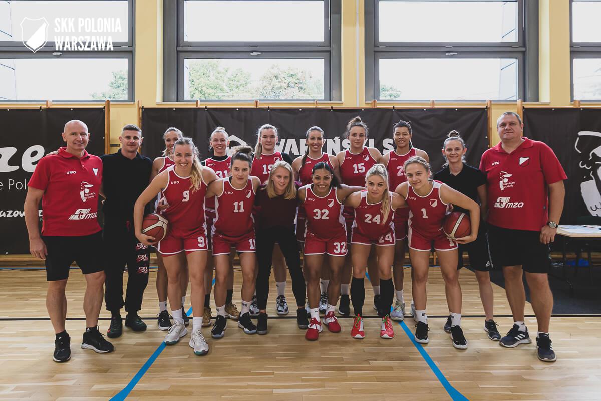 Zawodniczki drużyny SKK Polonia Warszawa