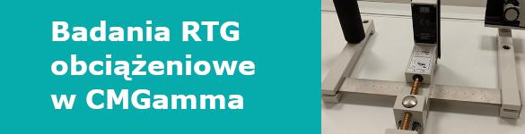 Badania RTG obciążeniowe w CMGamma - zdjęcie